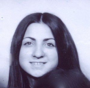 1972 Passport Photo for our Rome/Sicily trip