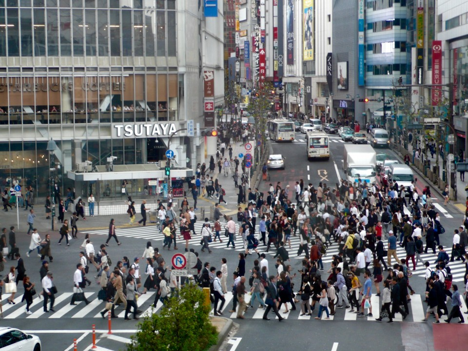 Shibuya intersection!!