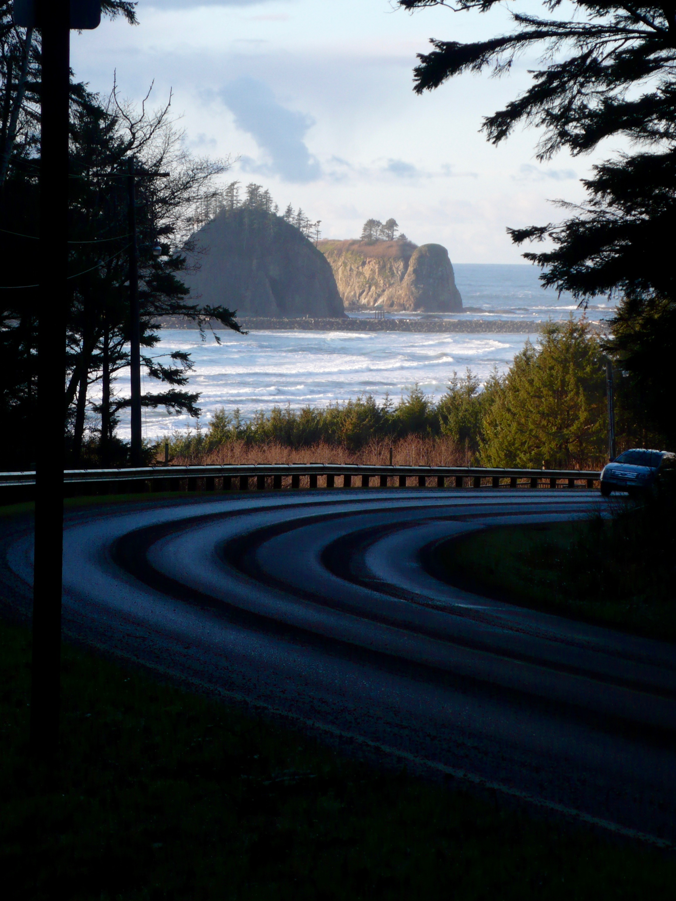 The road leading to La Push