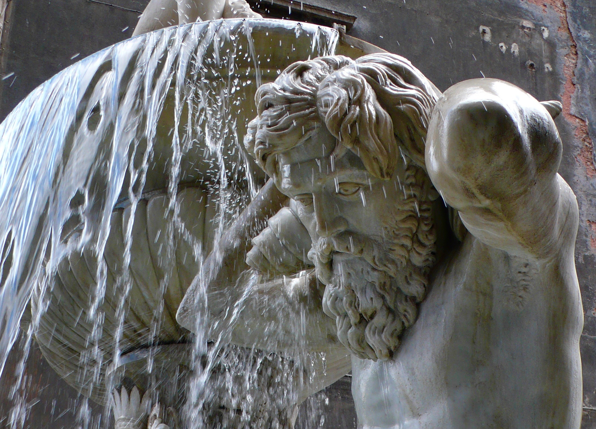 Triton at the Catania Market Fountain