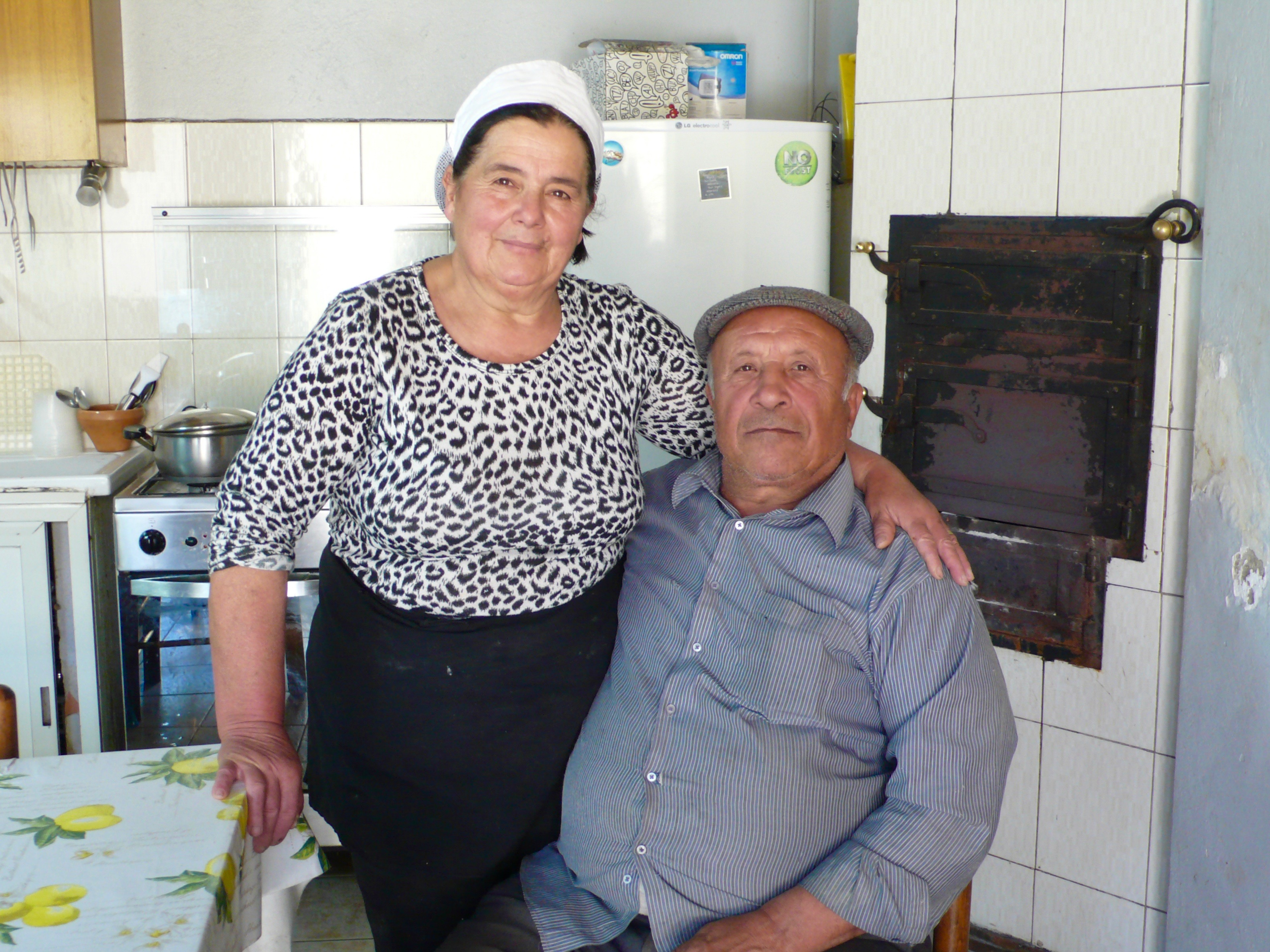Ricotta Farmers Maria and her husband of 45 years, Nino.