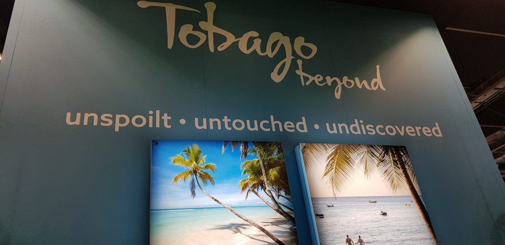 Tobago stand at World Travel Market 2019