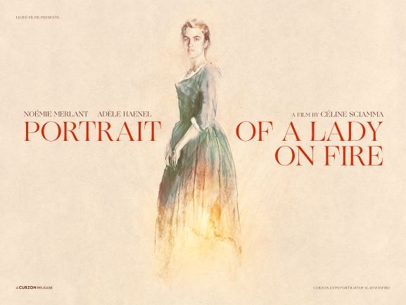 Teaser poster for Portrait of a Lady on Fire