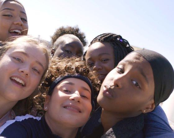 The teenage cast in Rocks
