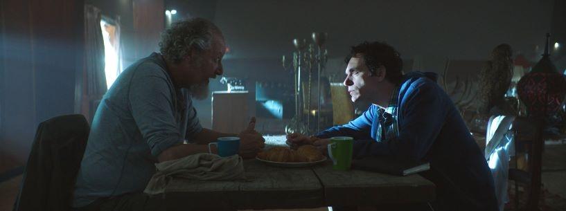 Daniel Stern and Jonas Chernick in James vs His Future Self
