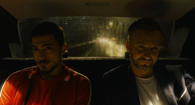 Eimutis Kvoščiauskaus and Doğaç Yildiz in The Lawyer