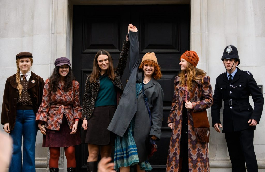 Keira Knightley, Jessie Buckley and others in Misbehaviour