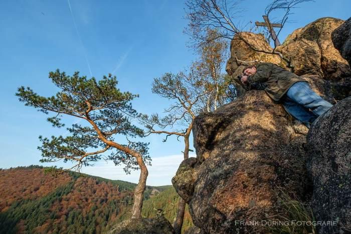 Arbeitsfoto Landschaft, Ilsenstein,  Harz