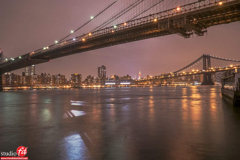 Long exposures with the X-E1 can be done from a normal tripod because the camera is really lightweight.