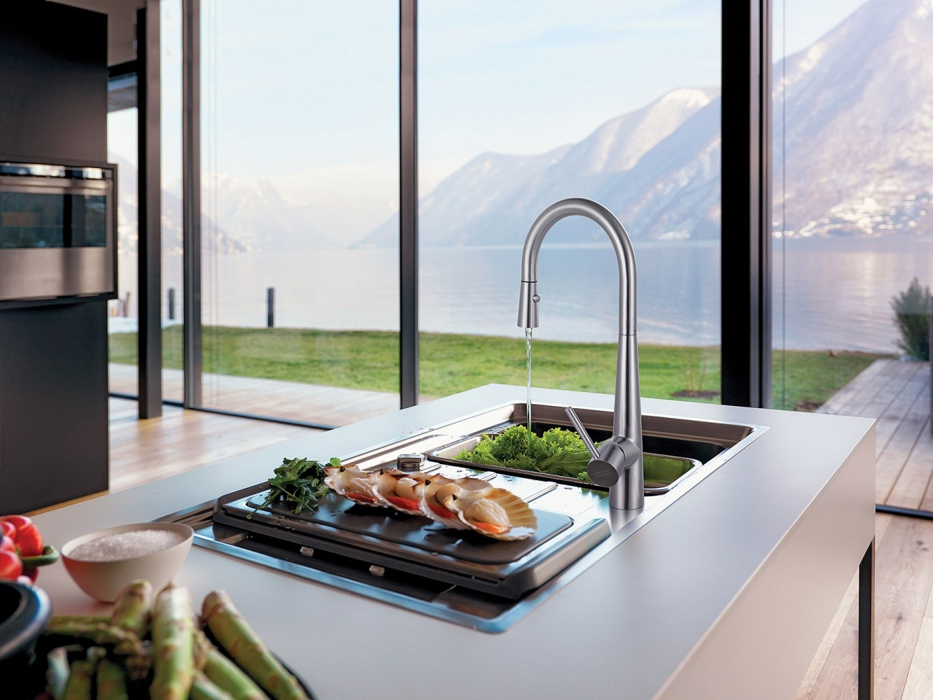 modern kitchen faucets faucet diverter new sinks and | franke systems