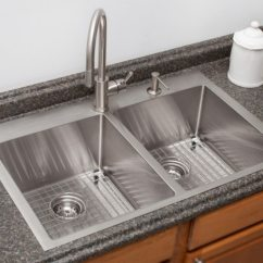 Stainless Kitchen Black Undermount Sink Steel Sinks Franke Systems Topmount