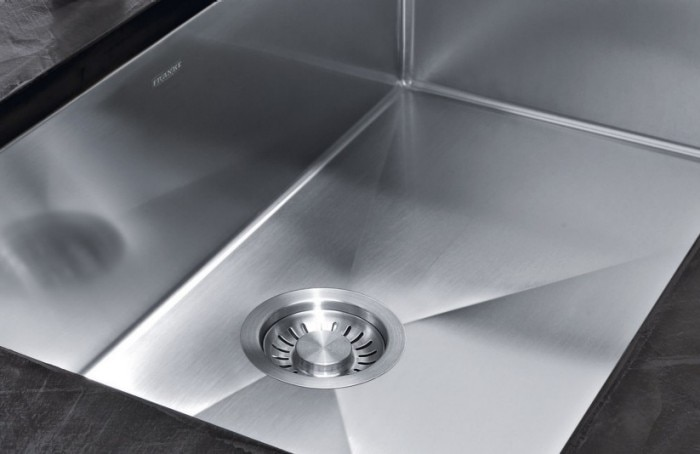 franke kitchen sinks carts and islands stainless steel systems choosing the ideal gauge