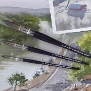Frank Eber paintbrushes