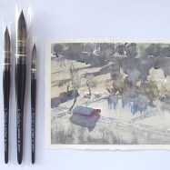 Frank Eber paintbrushes