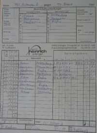 Sa. 30. Januar 2010, 13.00 Uhr ff: Endrunde Kreispokal ...