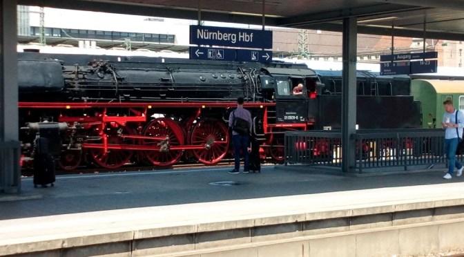Dampf-Sonderzug in Nürnberg am 30.06.2017