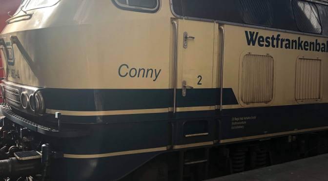 Conny der Westfrankenbahn in München