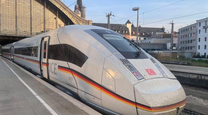 Der Deutschland ICE – zum 30. Jubiläum
