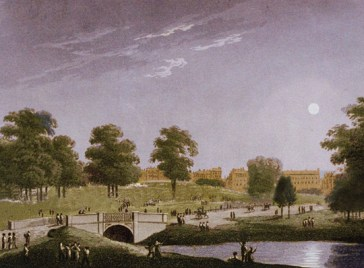 Hyde Park Serpentine 1816