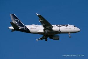 D-AILC Lufthansa Airbus A319-114 | MSN 616