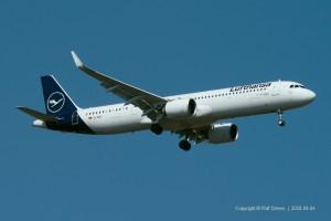D-AIEC Lufthansa Airbus A321-271NX | MSN 8814