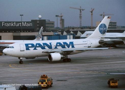 N803PA Pan Am Airbus A310-222 (MSN 343)