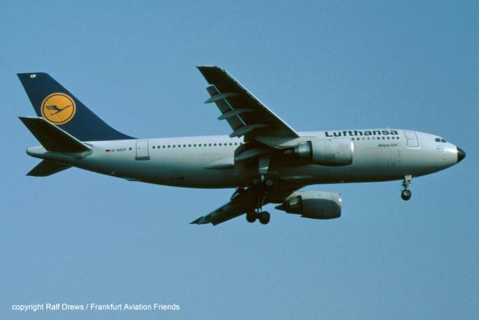 D-AICP Lufthansa Airbus A310-203 (MSN 360)