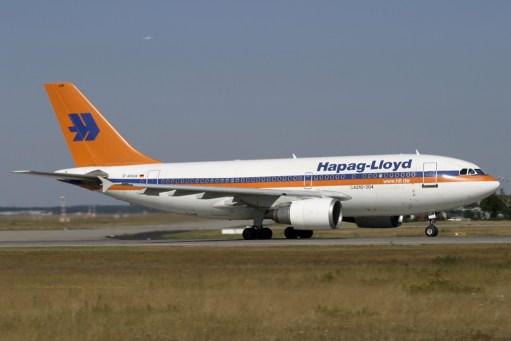 D-AHLW Hapag-Lloyd Airbus A310-204 (MSN 427)