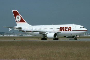 D-APOP MEA Middle East Airlines Airbus A310-304 (MSN 481)