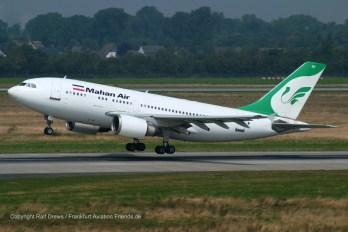 EP-MHI Mahan Air Airbus A310-304 (MSN 537)