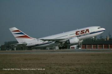OK-WAB Czech Airlines Airbus A310-304ET (MSN 567)