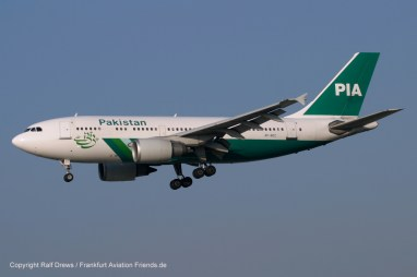 AP-BDZ PIA Pakistan International Airlines Airbus A310-308 (MSN 585)
