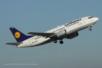 """D-ABXN Lufthansa Boeing 737-330 (sn 23872 / ln 1447) """"Böblingen"""""""