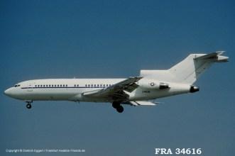 83-4616 U.S. Air Force Boeing 727-35 (sn 18817 / ln 118)
