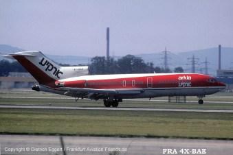 4X-BAE Arkia Boeing 727-95 (sn 19249 / ln 304)