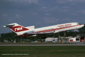 N889TW Boeing TWA Trans World Airlines 727-31(s/n 19228 / ln 351)
