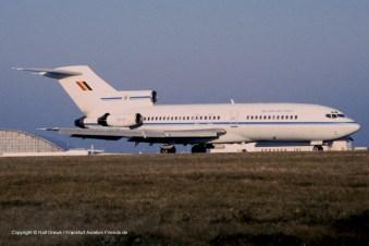CB-01 Belgian Air Force B727-29 (sn 19402 / ln 415)