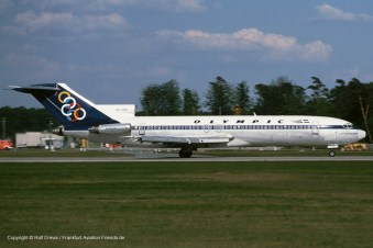 "SX-CBG Olympic Airways Boeing 727-230 (sn 20918 / ln 1093) ""Mount Melanon"""