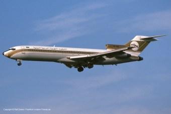 5A-DIB Libyan Arab Airlines Boeing 727-2L5 (sn 21051 / ln 1109)