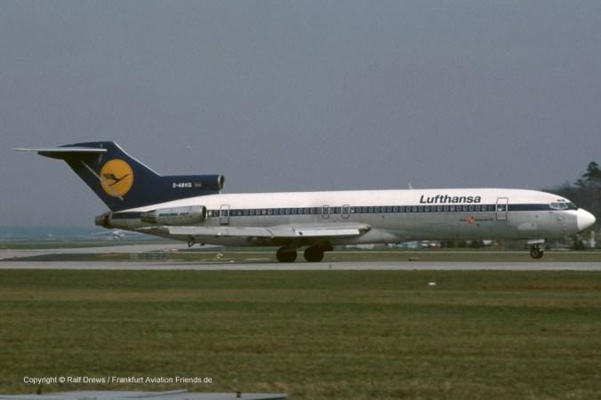 "D-ABKQ Lufthansa Boeing 727-230 (sn 21620 / ln 1419) ""Mainz"""