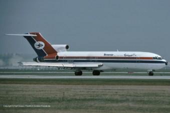 4W-ACG Yemenia Boeing 727-2N8 (sn 21845 / ln 1529)