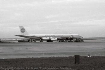 N703PA Pan American World Airways Boeing 707-331 (ln 89) FRA 1960