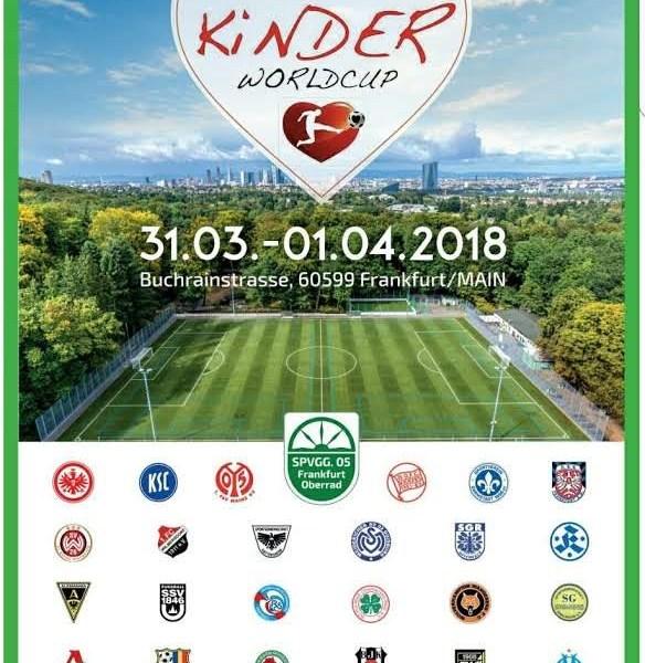 1. Kids World Cup in Frankfurt