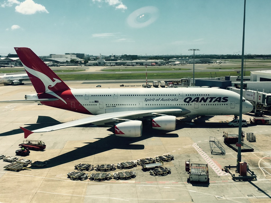 Review: Qantas Business Class Airbus A380 Los Angeles nach Sydney
