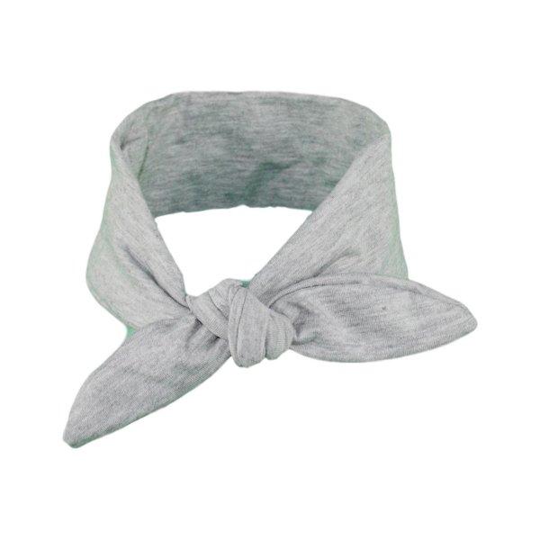 Plain Grey baby/Toddler Hair Wrap