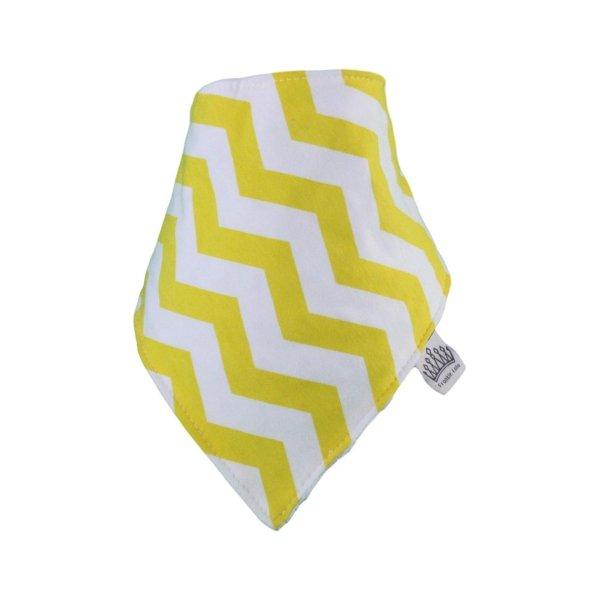 Yellow & White Chevvy Bib
