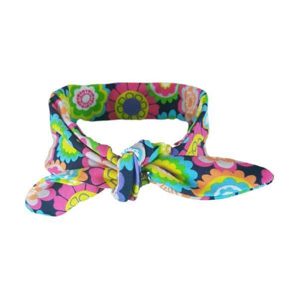 Colourful Flower Hair Wrap