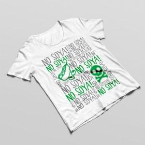 No Soya Allergy Tshirt