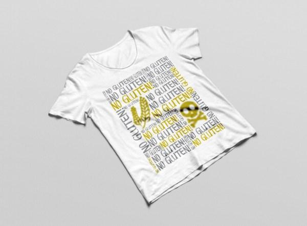 No Gluten Allergy Tshirt