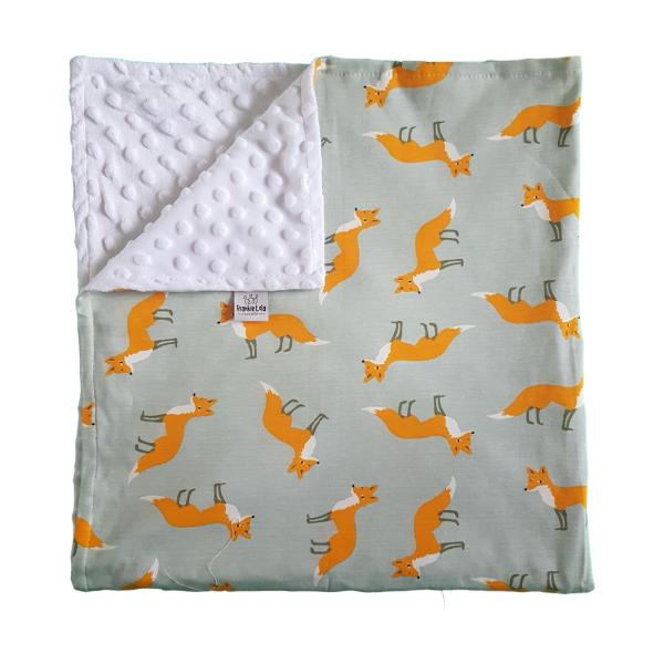 Fox Cotton Blanket